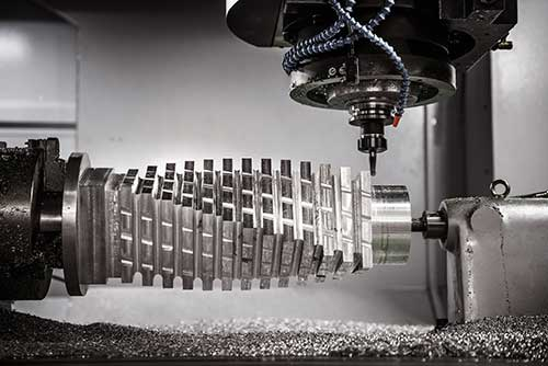 5 axis continuous machining example available on SprutCAM 12